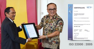 Cheetham Garam Indonesia Achieves International Food Safety Certification